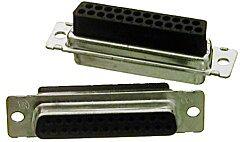 TE 207463-1 - Amplimite Dsub liitin 25 Nap Naaras Crimp Pinni (erillinen)