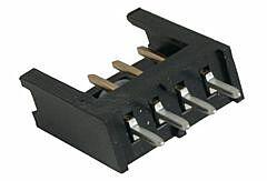 TE 280371-2 - AMPMODU Male 4 Pin PCB Header Pitch 2.54mm / 0.1inch