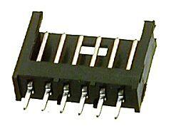 TE 280372-2 - AMPMODU 6 Napainen Uros Piirilevyliitin Pitch 2.54mm / 0.1inch