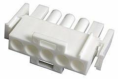 TE 350809-1 - MATE-N-LOK 5 Nap Uros Liitinkotelo Pitch 6.35mm / 0.25inch