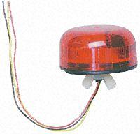 KLAXON 366-1181YE - U.L.P XENON 12VDC RED