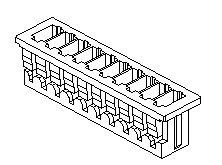 Molex 51021-0200 - PicoBlade Naaras Crimp kotelo  2 napainen 1-rivinen