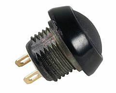 ITW 59-111 - BUTTON BLACK ROUND FRAME