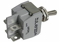 APEM 641H/2 - 600H-sarjan Vipukytkin 2-napainen ON-OFF Asennusaukko 12,2 mm