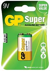 GP BATTERIES 6LF22-GP - ALKALINE CELL 6LF22 9V SUPER 1PC