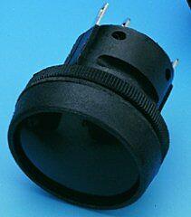 ITW 76-9116-439088 - Painike Palautuva 5A 250V IP67 - Musta