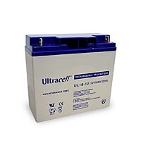 ULTRACELL UL18-12 - LEAD BATTERY 12V 18Ah 4-5 YEARS