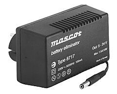 MASCOT 8717/5-24VD - 5-24V 10W power supply AC/DC regulated
