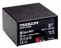 MASCOT 8937 SM - 5-24V 18W power supply AC/DC