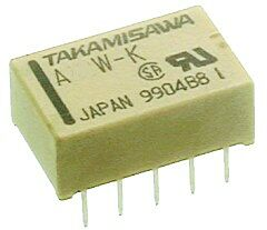 FUJITSU A5W-K - Relay 5VDC 2A DPDT (2 Form C) Non-Latching Through Hole for PCB
