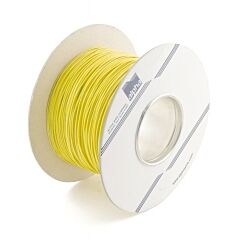 ALPHA 3051 YELLOW - CONNECTION WIRE AWG22 YELLOW 305M