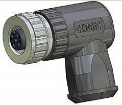 CONEC 43-00098- M12 5 Pin Female Connector / Angle / Cable