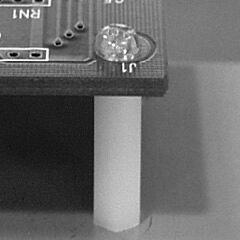 Piirilevytuki Muovi Korkeus 30mm M3 Kierre - KITAGAWA IQ-30
