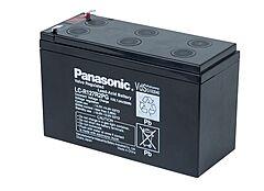 PANASONIC LC-R127R2PG - LEAD BATT. 12V 7,2Ah 6-9Y NAR. CON