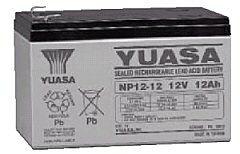 YUASA NP12-12 - LEAD BATTERY 12V 12Ah 4-5 YEARS