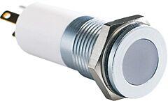 APEM Q14F1GZZRYG24E - LED Indikaattori Punainen/Keltainen/Vihreä 24V  Asennusaukko 14 mm - IP67