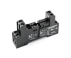 Schrack RT78725 - Relay Socket DIN Rail RT-series 5.0mm Pitch