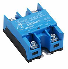 Solid State Relay (SSR) 50A 24-600 VAC Control 3.5 - 32VDC - CELDUC SO965460
