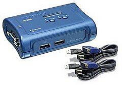 TRENDNET TK-207K - 2-port USB KVM Switch Kit