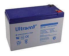 ULTRACELL UL7-12 - LEAD BATTERY 12V 7Ah 4-5 YEARS