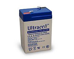 ULTRACELL UL4.5-6 - LEAD BATTERY 6V 4,5Ah 4-5 YEARS