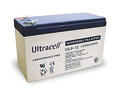 ULTRACELL UL9-12 - LEAD BATTERY 12V 9Ah 4-5 YEARS