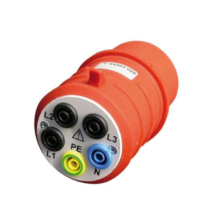 AMPROBE AMP DAA32 - 32A 3-Phase Cee Plug W/Banana Jacks