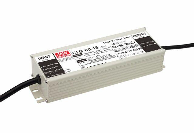 MEAN WELL CLG-60-24 - LED Virtalähde 60W 24V 2.5A