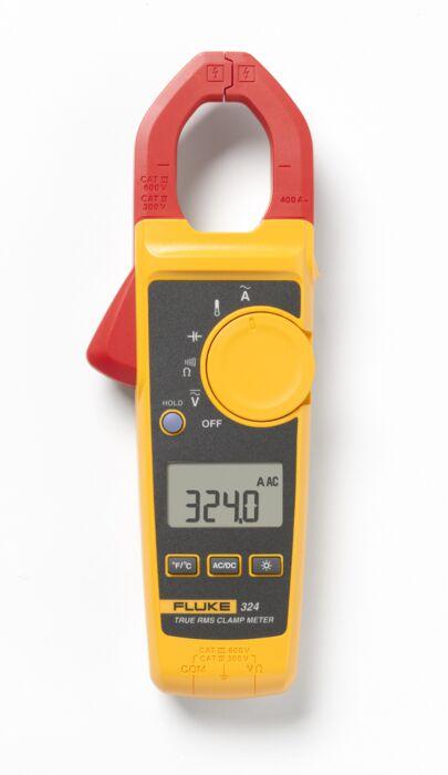 FLUKE 324 - CLAMP METER 400A AC TRMS+TEMP