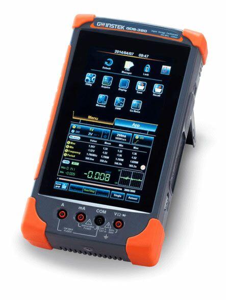 GW Instek GDS-320 - SCOPE+DMM 200MHz 5M 1kV LiPoBAT 2ch