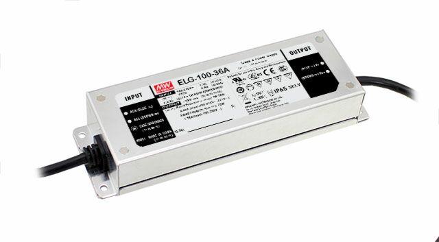 MEAN WELL ELG-100-24 - LED Virtalähde 96W 24V 4A