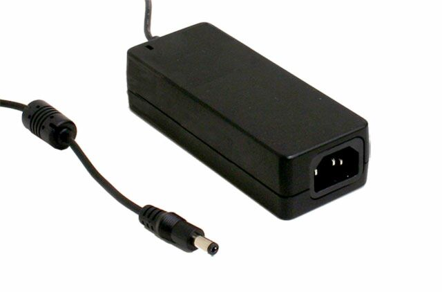 MEAN WELL GST40A05-P1J - Industrial Desktop Adapter 5V 5A 40W