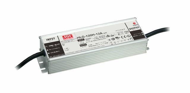 MEAN WELL HLG-120H-12B - Himmennettävä (3:1) LED Virtalähde 120W 12V 10A