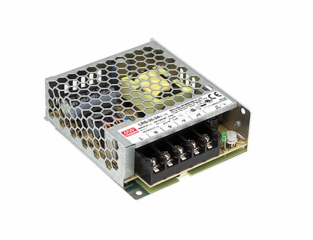 MEAN WELL LRS-35-24 - Enclosed Power Supply 36W 24V 1.5A