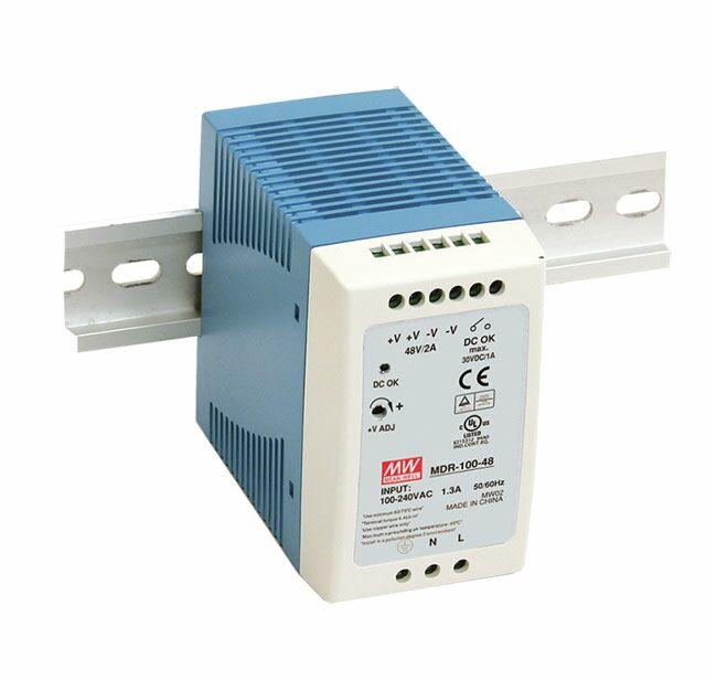 MEAN WELL MDR-100-12 -DIN Rail Power Supply 12V 7.5 100W