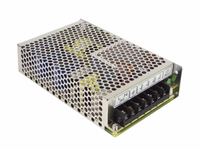 MEAN WELL RS-100-24 -  Enclosed Power Supply 100W 24V 4.5A