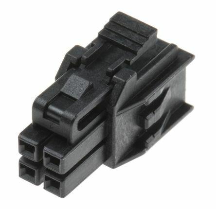 MOLEX 105308-1204 - 2.50MM DUAL ROW 4CKT RCP