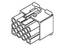 "MOLEX 3191-12R1 - 2.36MM,(.093"")NAARAS 12NAP RoHS"