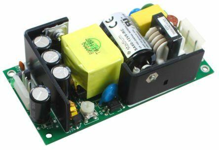 RS Pro  1244710 - 13.8Vdc 60W virtälähde