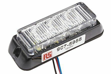 RS Pro  9075955 - Kelt Pinta-asennettava Led