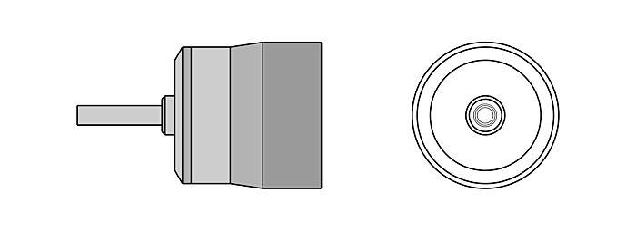 WELLER TNR 25 - WTHA HOT AIR NOZLE 2,5mm