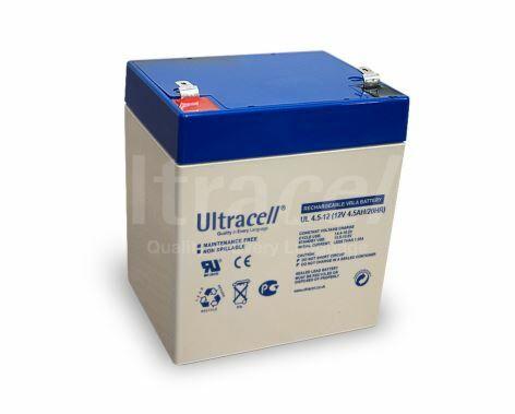 ULTRACELL UL4.5-12 - LEAD BATTERY 12V 4.5Ah 4-5 YEARS