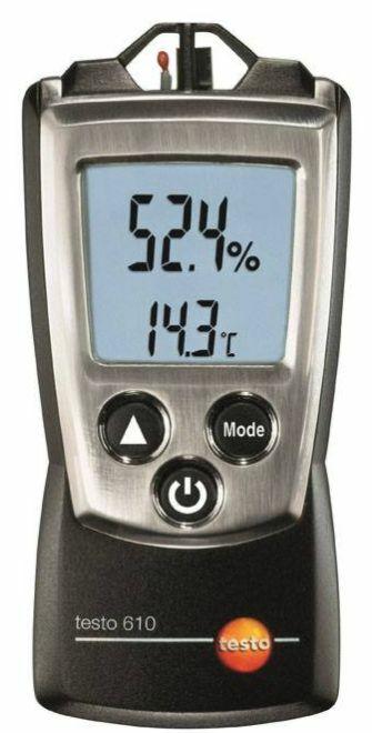 Kosteus- ja lämpötilamittari