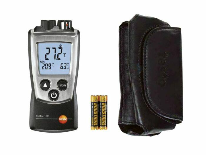 IR-mittari ja ilman lämpötila