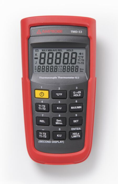 AMPROBE AMP TMD-53 - THERMOMETER TMD-50, Typ K/J