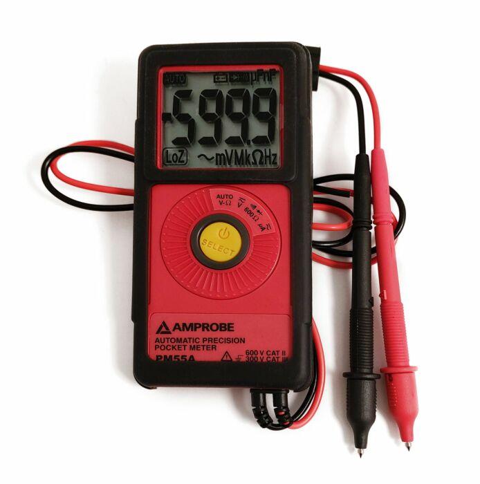 AMPROBE AMP PM55 - POCKETCOMBINED MULTIMETER CatIII