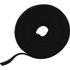 DELTACO CM05S - Kaapeliside musta 5m