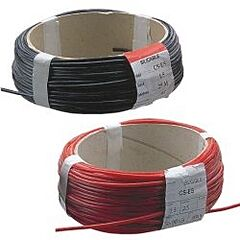 YES D-2511 - SILICONCABLE 1,5mm2 BLACK 25m