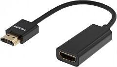 DELTACO HDMI-1088 - HDMI male to female 0,1m