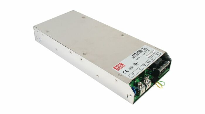 MEAN WELL RSP-1000-24 - Enclosed Power Supply 960W 24V 40A - Fan Cooling